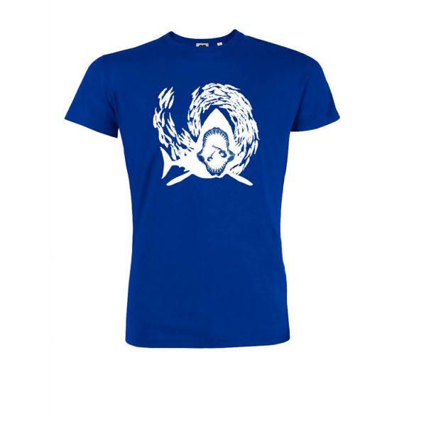 camiseta azul klein