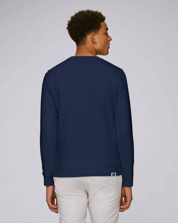 sudadera bolsillo azul marino