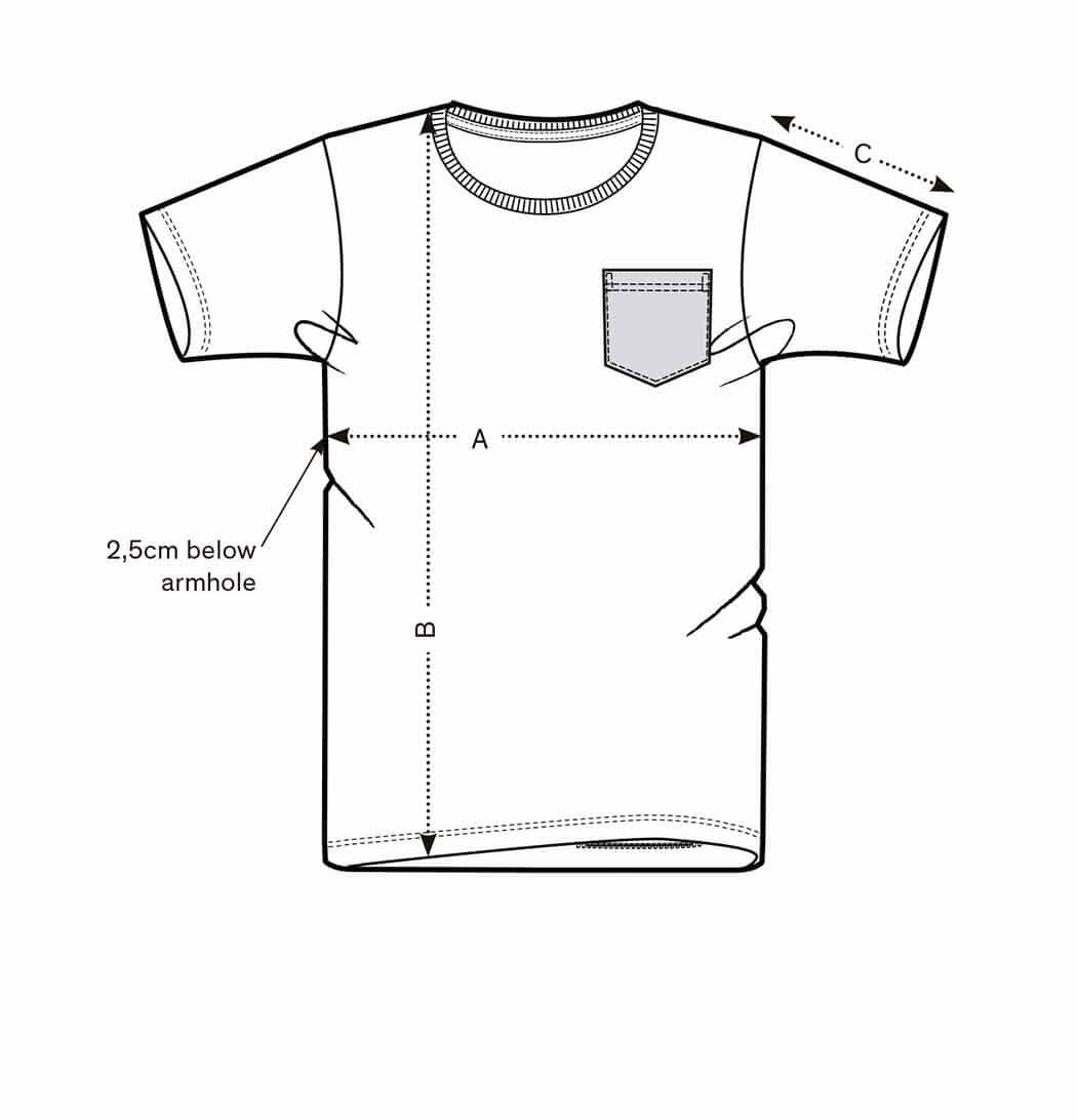 Hawái Pocket Tee