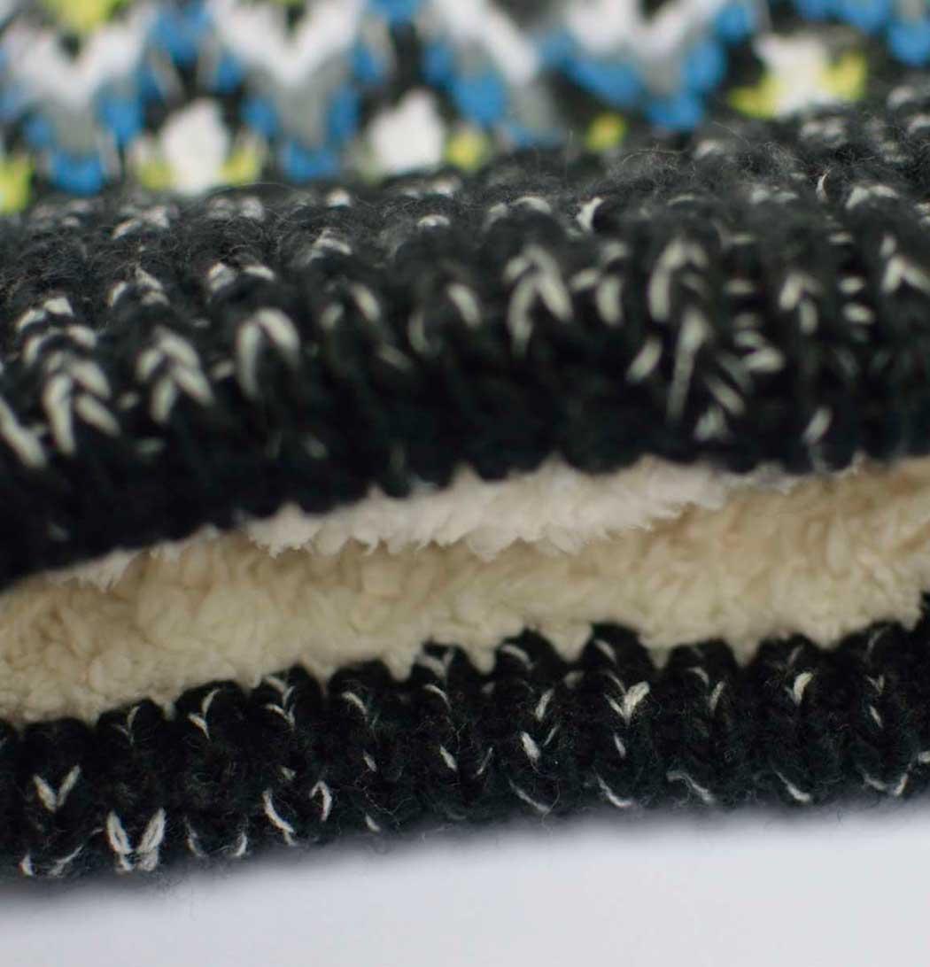 Gorro de lana Everest detalle forro interior