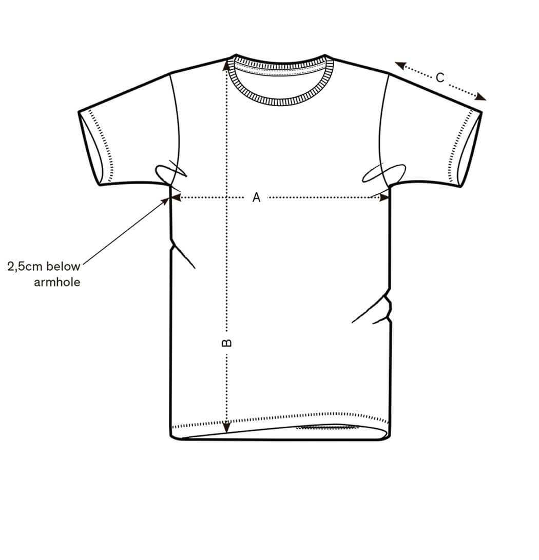 Camiseta rayas Sun stripes