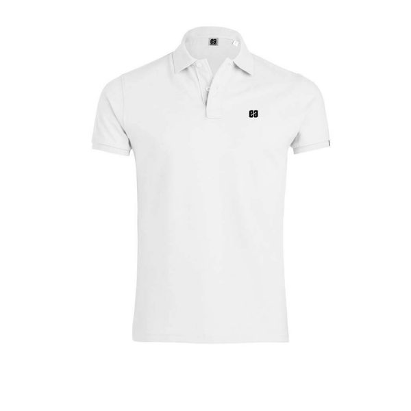polo blanco Bonealive