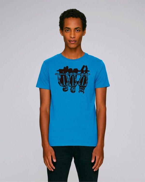 azul turquesa camiseta estampada child games   Bonealive