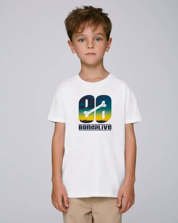 camiseta blanca niño | Bonealive