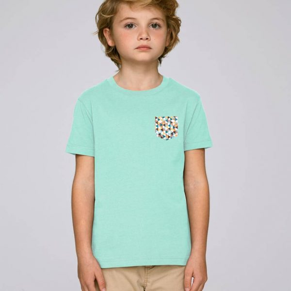 camiseta bolsillo niño Triangle | Bonealive