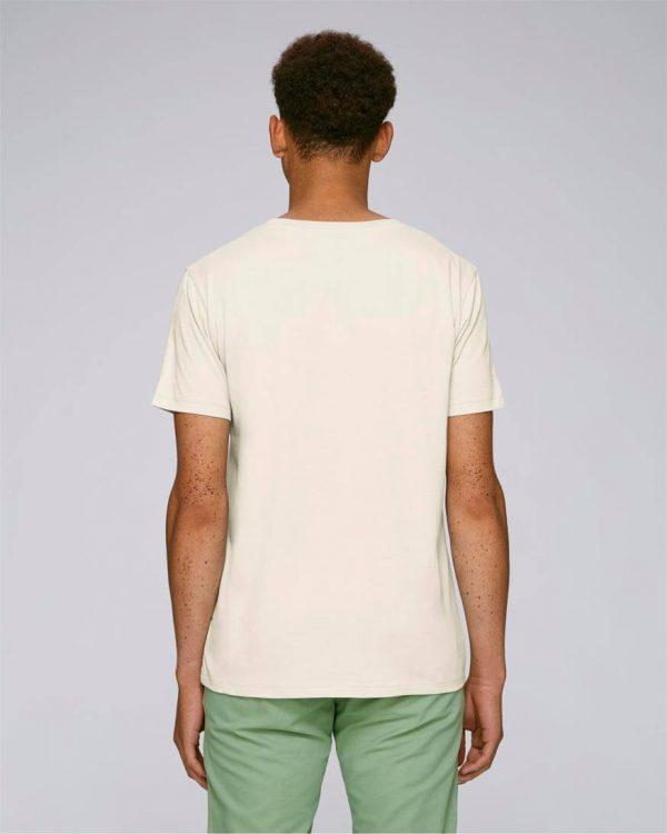 camiseta con bordado hombre