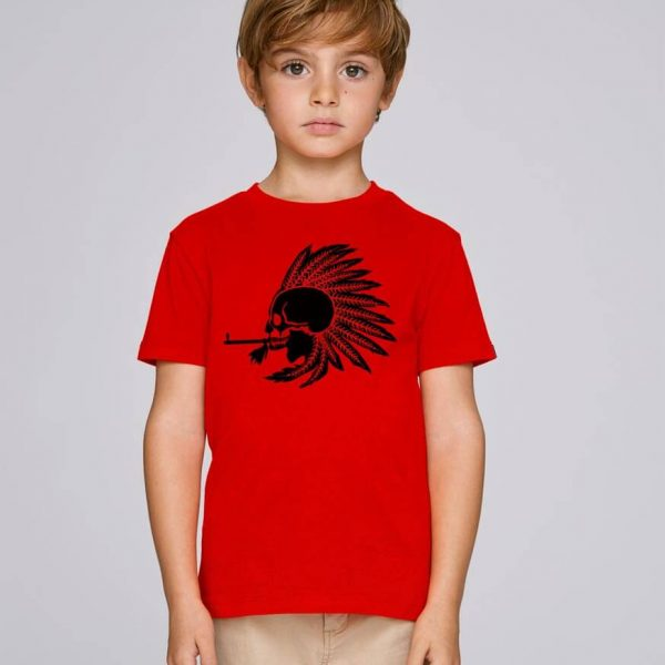 camiseta roja niño Indian Pipe | Bonealive