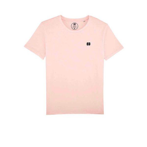 camiseta lisa rosa hombre Bonealive