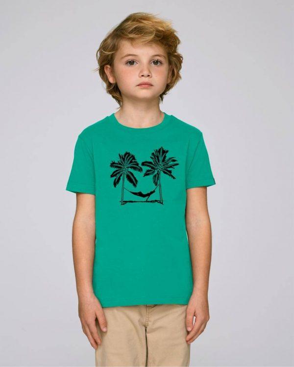 camiseta verde niño Palm Beach | Bonealive