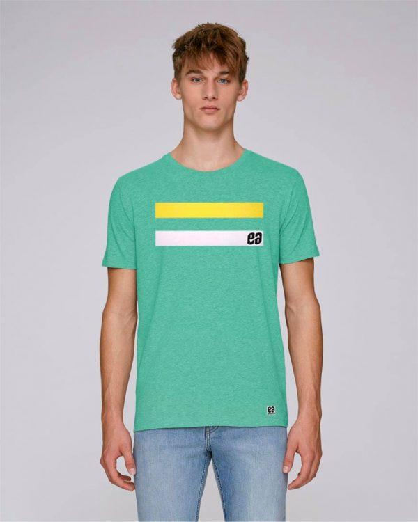camiseta verde hombre