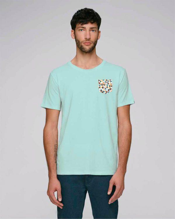 camiseta con bolsillo triangle | Bonealive