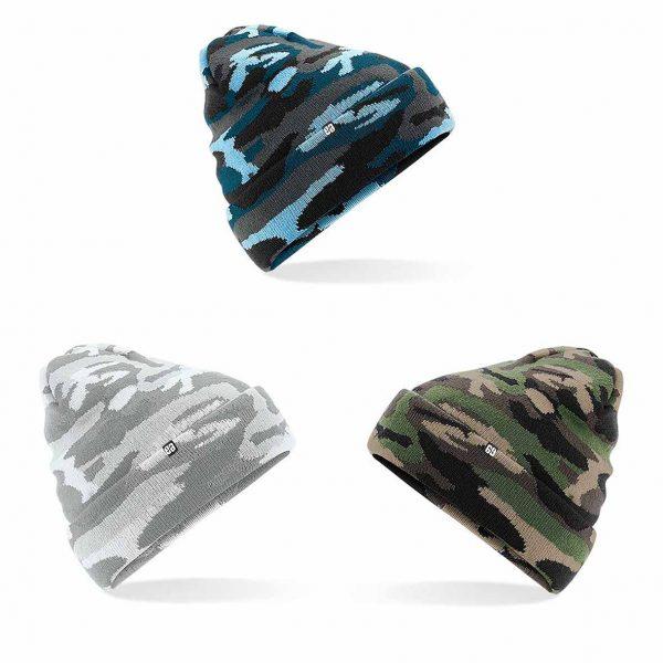 Gorro militar SPlinter | Gorros de lana militar | Gorro camuflaje