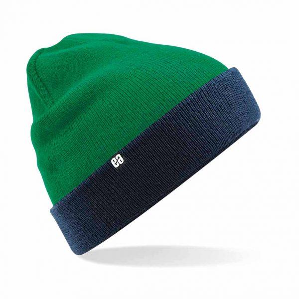 Gorro reversible Beanie Verde