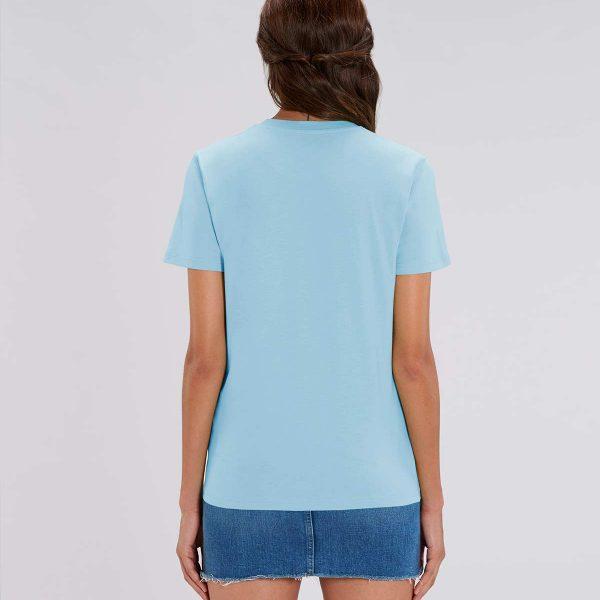 Camiseta azul cielo chica Pipeline