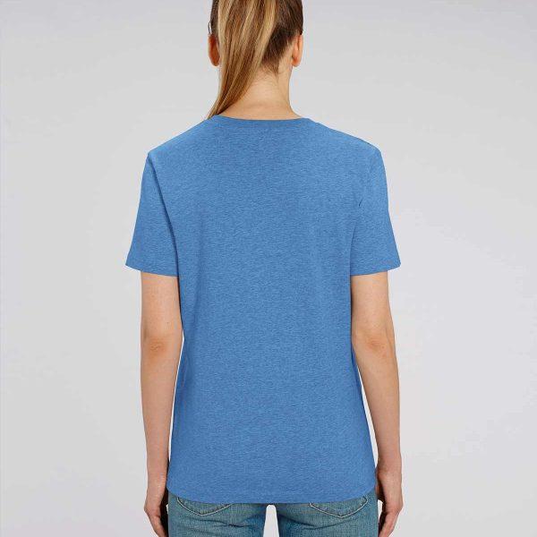 Camiseta azul claro chica Essential Blue