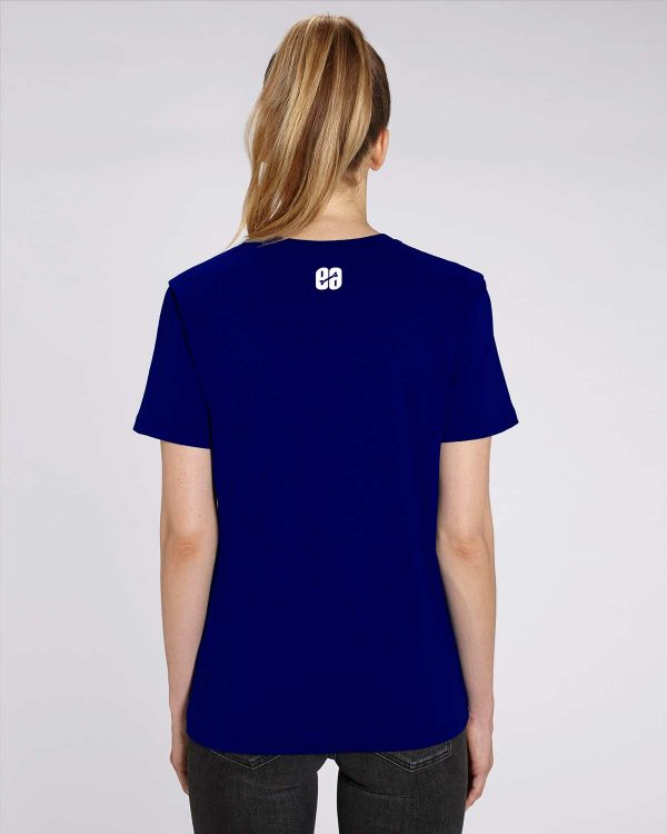 Camiseta azul marino chica Sharking