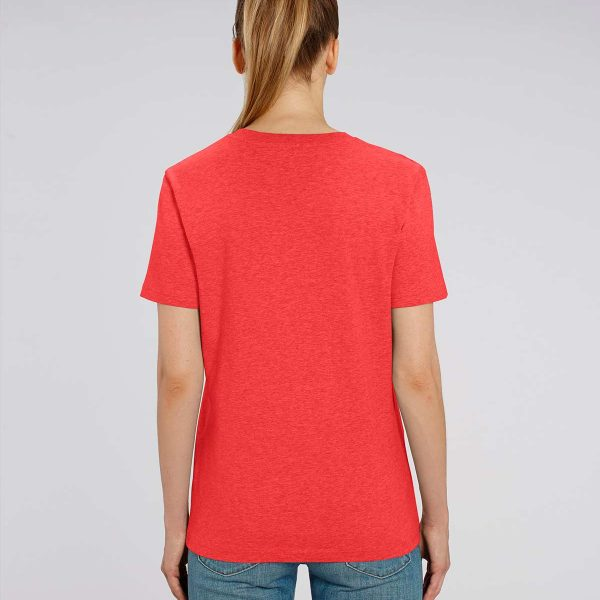 Camiseta coral mujer Essential Red