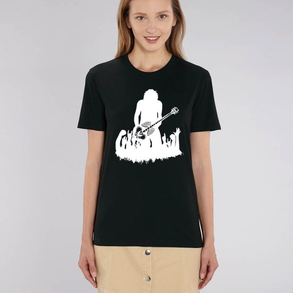 Camiseta negra mujer Rock Talent