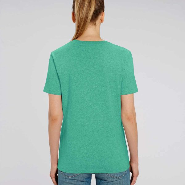 Camiseta verde agua para mujer Essential Green