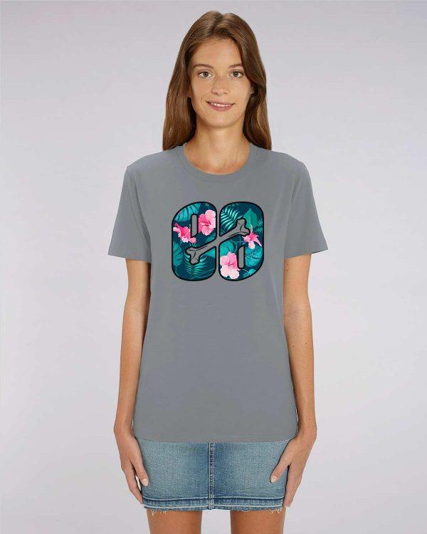camiseta gris mujer Summerflow